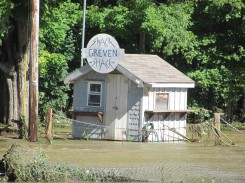 Greven Snack Shack, Hurricane Irene Flood