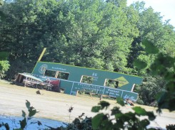 "Greven Field's ""Green Monster"" slain by Hurricane Irene"