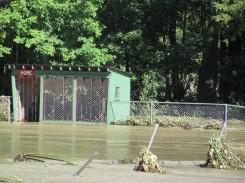 Greven Field, Hurricane Irene