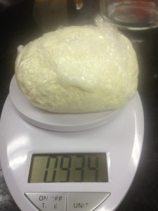 Weighing Homemade Cheese - How To