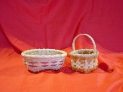Learn to weave miniature baskets at a Vermont crafts school! There are many classes at Fletcher Farm School to choose from.