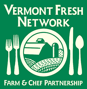We are a member of the Vermont Fresh Network as an inn and B&B