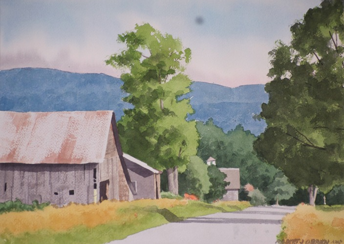 Plein Air Painting workshop in Vermont