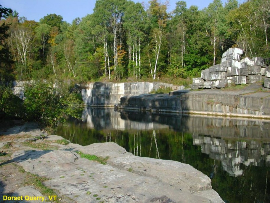 Dorset Quarry Swimming Hole VT