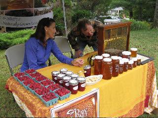 VT Golden Honey Festival Live Honeybees