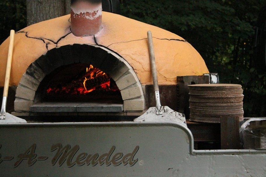 Goodman's American Pie wood-fired oven
