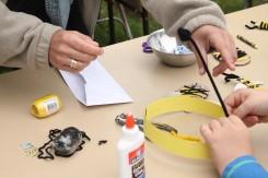 Honeybee kids activities at the festival