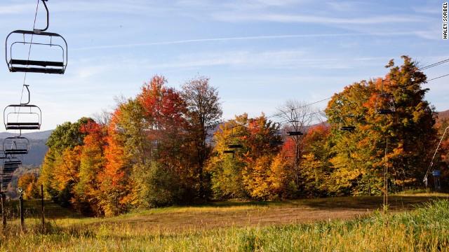 Ludlow VT fall foliage