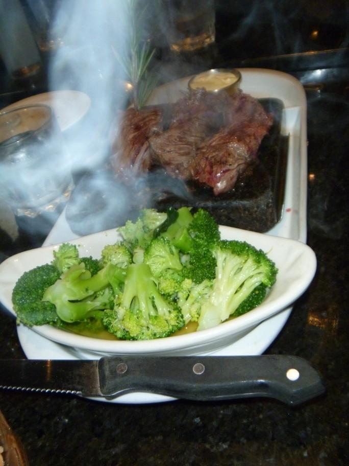 Black Rock Steak entree