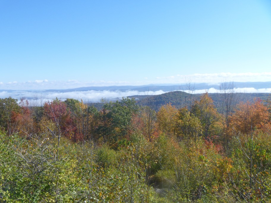 View from the top of Mt. Ephraim