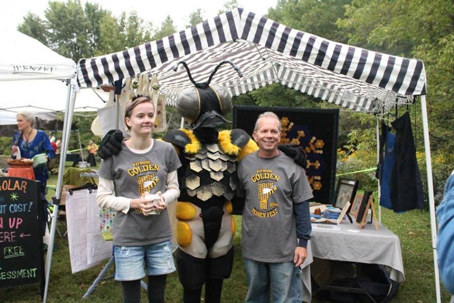 Vermont Golden Honey Festival Mascots