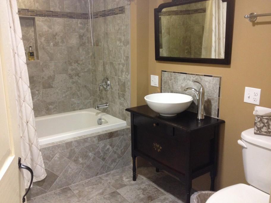 otis's renovated bathroom